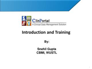 Introduction and Training