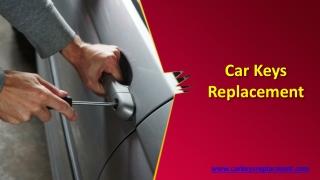 Car Keys Replacement