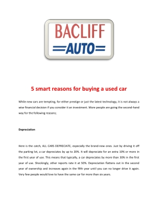 Used Car Dealerships Houston | Second Hand Cars | Bacliff Auto