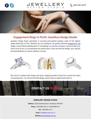 Engagement Rings in Perth: Jewellery Design Studio