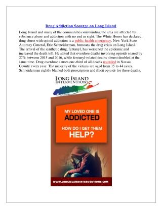 Long Island Addiction Resources