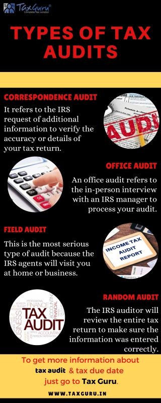 Types of Tax Audits