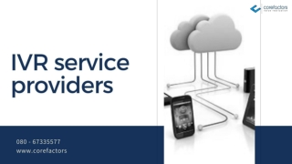 How Multi-level IVR Service Providers helps businesses