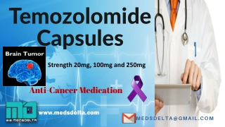 Temozolomide Capsules 100mg Price India   Buy Temcad 250mg Online   Natco Temozolomide Capsules