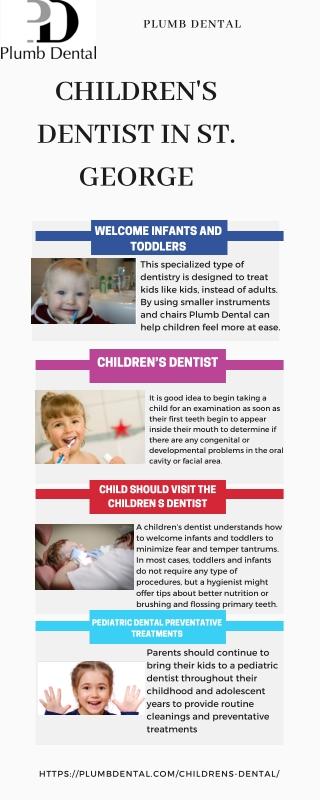 Children's Dentist in St. George | Plumb Dental