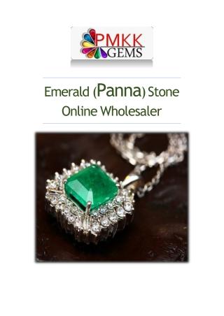 Buy Emerald Gemstone Wholesale Online