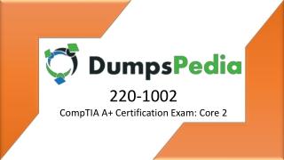 220-1002 Dumps
