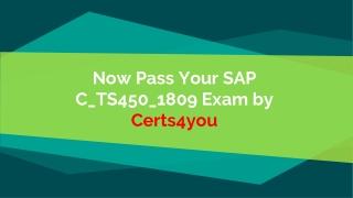 C_TS450_1809 Test Dumps