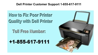 Dell Printer Printing Slow Issue