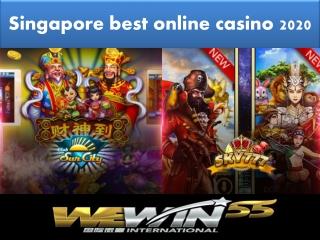 Wewin55 International - Singapore malaysia trusted online casino 2020
