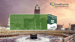 TravelCarma Hajj & Umraah Booking Platform
