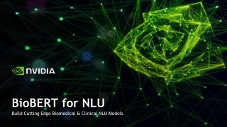 NLP for Biomedical Applications
