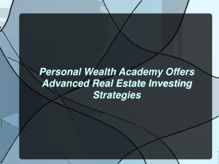 About Personal Wealth Academy