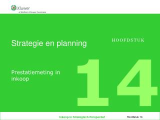 Strategie en planning