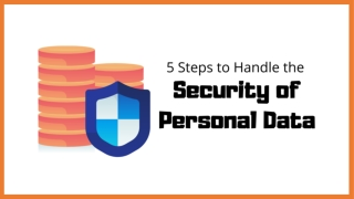 5 Steps to Handle the Security of Personal Data