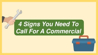 4 Signs You Need To Call For A Commercial Plumber