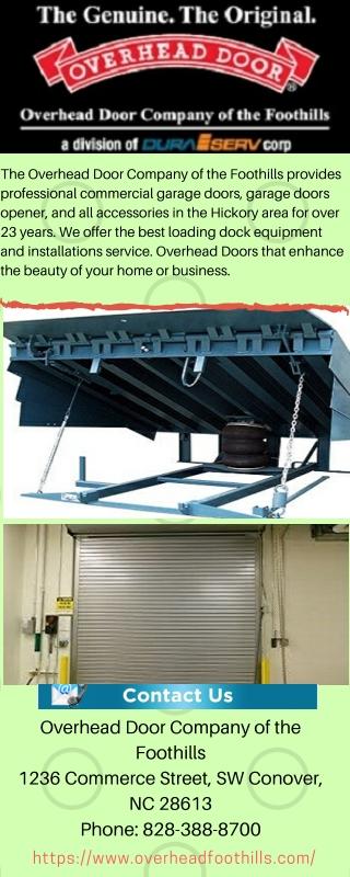 Overhead Door Company of the Foothills