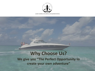 Go on a Sea Adventure in Cayman on Your Own Private Charter