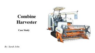 Combine Harvester   Multi Crop Combine Harvester