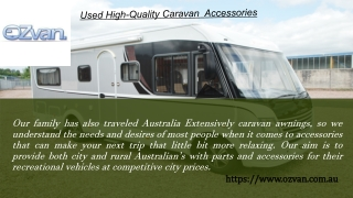 Online Shopping Of Caravan Accessories Store In Australia