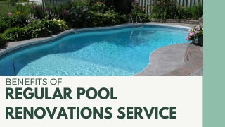The Complete Pool Renovation and Remodeling Services