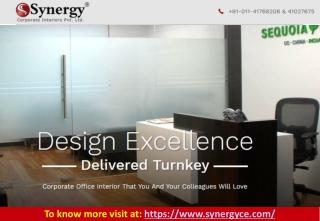 Office Interior Designers in Delhi NCR