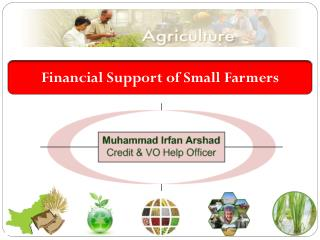 Rural Finance in Pakistan
