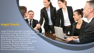 Virtues of Employment Screening and Background Checks