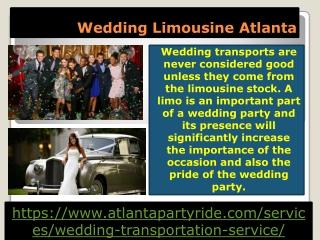 Affordable Limo Rental Service Atlanta-Atlanta Party Ride