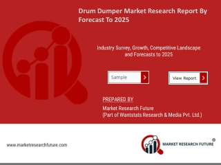 Drum Dumper Market Research Report - Global Forecast till 2025