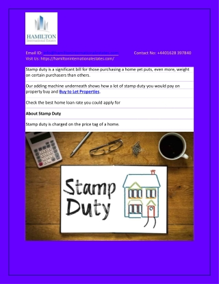 Stamp Duty Calculator: How Much Will You Pay On Property?