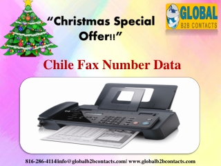 Chile Fax Number Data