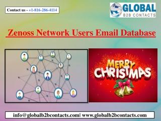 Zenoss Network Users Email Database