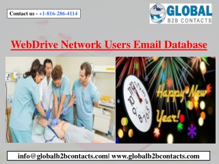 WebDrive Network Users Email Database