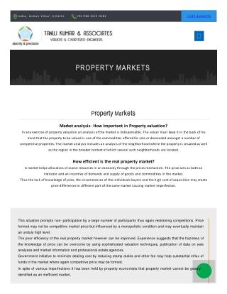 Efficient Property Value