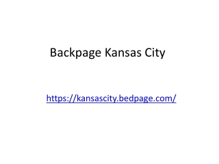 Backpage Kansas City
