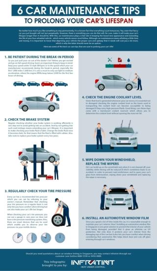 6 Car Maintenance Tips to Prolong Your Car's Lifespan