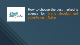 Brand Development Advertising Qatar