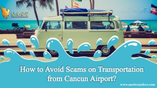 How to Avoid Scams on Transportation from Cancun Airport?