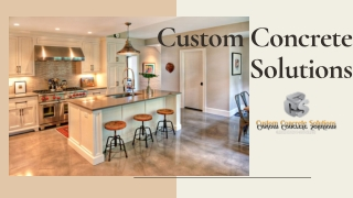 Stamped Concrete Contractors In CT   Custom Concrete Solutions