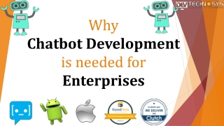 Why Chatbot development is needed for enterprises?