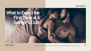 What to Expect the First Time at a Swinger's Club
