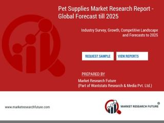 Pet supplies market worth $38.45 bn by 2025