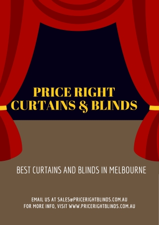 Blinds in Melbourne - Interesting points while picking one for your home