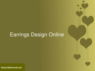 Earrings Design Online