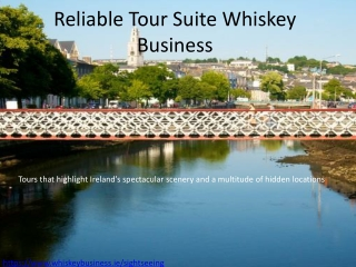Reliable Tour Suite Whiskey Business