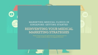 Marketing Medical Clinics in Singapore: Getting Started