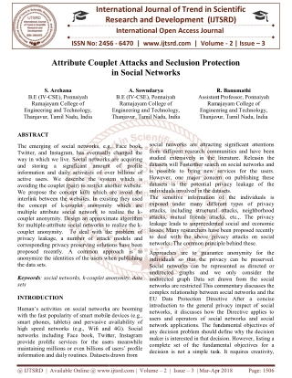Attribute Couplet Attacks and Seclusion Protection in Social Networks