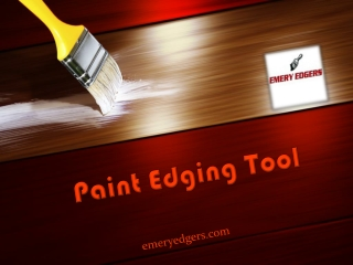 Paint Edging Tool