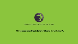 Chiropractic care for great well-being
